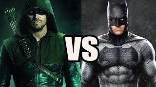 CW Arrow vs Batman - Who Would Win? - Analytical Story Battle