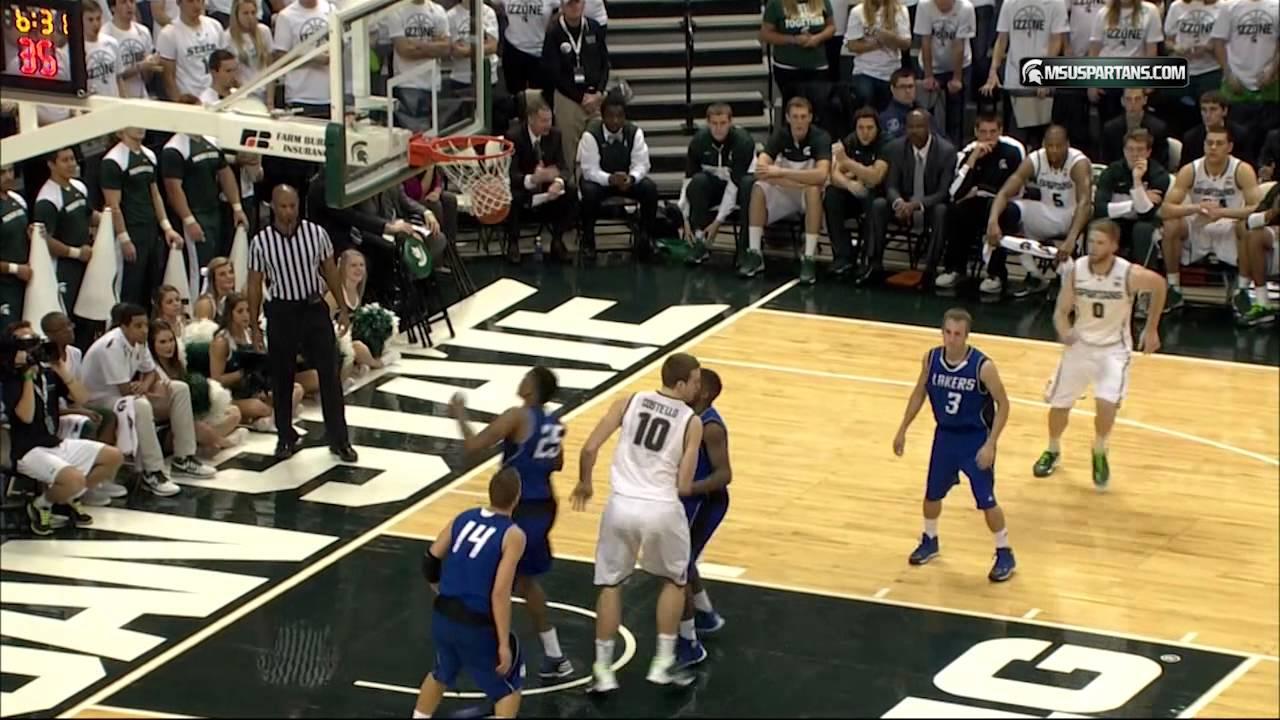 Michigan State Basketball vs. Grand Valley State ...