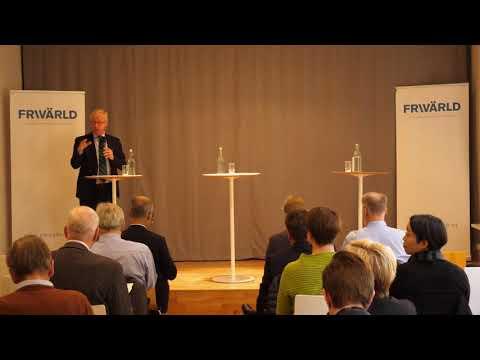 Gunnar Hökmarks inledningsanförande om regeringens nya Kinastrategi