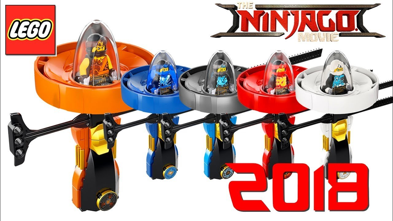 Lego 2017 The Ninjago Movie Spinner Set Review