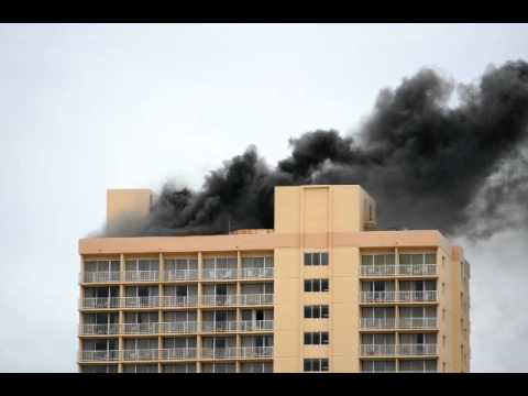 11 18 2017 Working Fire Pacific Beach Hotel Honolulu Hawaii 1 Of 2