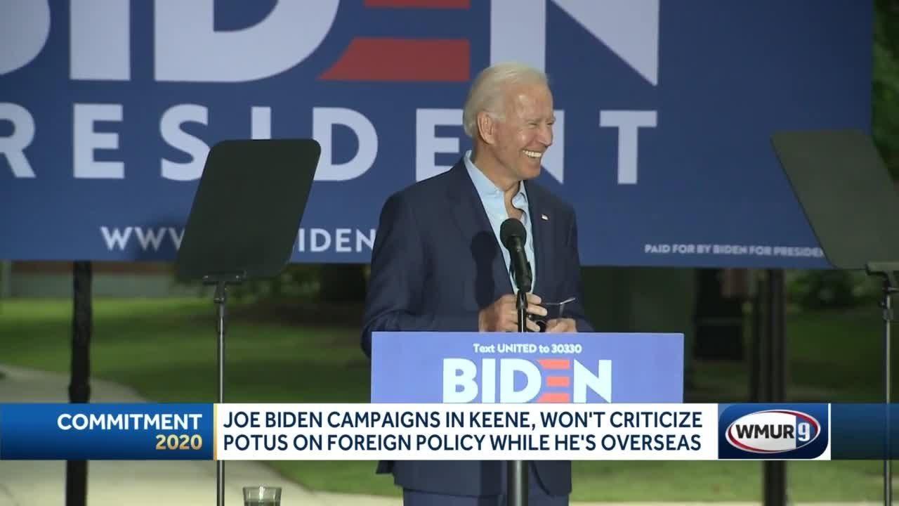 Biden mistakes New Hampshire college town for Vermont | KTSA