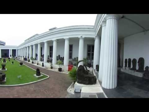 National Museum of Indonesia in 360° view