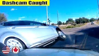 Ultimate North American Cars Driving Fails Compilation - 111 [Dash Cam Caught Video]