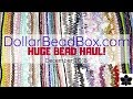 Huge Czech Glass Bead & Jewelry Making Online Haul! | Dollar Bead Box | December 2018