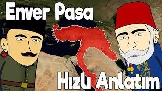 Enver Paşanın Hayatı - Harita Üzerinde Hızlı Anlatım