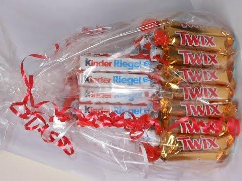 Torte mit Twix und Kinder Riegel /Geschenk /Geburtstag /Prezent na urodziny/Gift