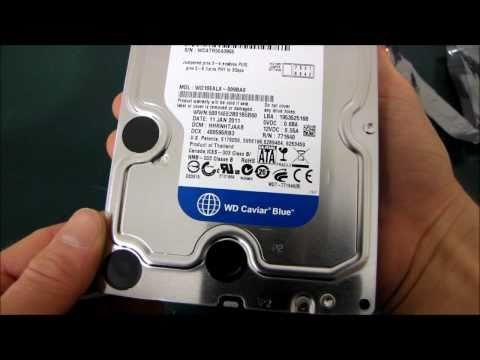 Western Digital Blue 1TB SATA3 6Gb/s Hard Drive Unboxing & First Look Linus Tech Tips