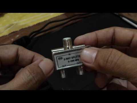 Cara Paralel Antena TV Supaya Tetap Jernih
