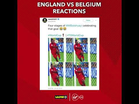 Hilarious Twitter reaction to England v Belgium | #AllTheFootball