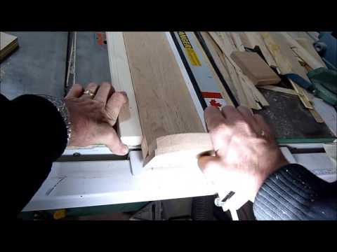 Table saw jig for edge banding and ripping