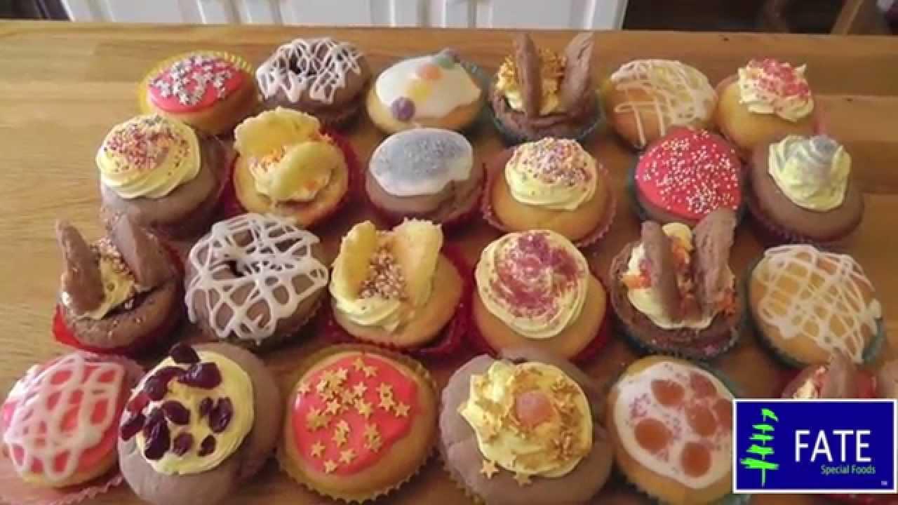 Fairy Cake Icing Recipe Uk: Fate Low Protein Fairy Cakes- Including Buttercream, Glaće