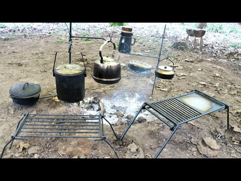 Hand Forged Outdoors Cooking Equipment - TJM Metalworks