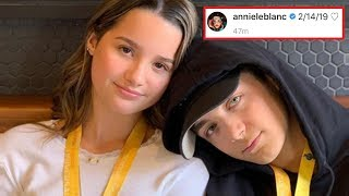 Asher Angel Asks Annie LeBlanc To Be His Girlfriend **OFFICIALLY DATING**