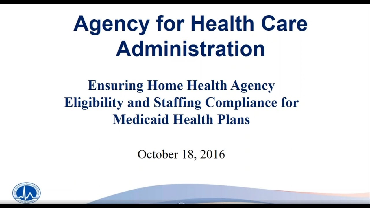 Ensuring Home Health Agency Eligibility & Staffingpliance For Medicaid  Health