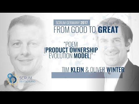 POEM (Product Ownership Evolution Model) - Tim Klein and Oliver Winter