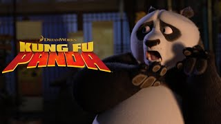 Panda Gets Scared by a Ghost Story | NEW KUNG FU PANDA