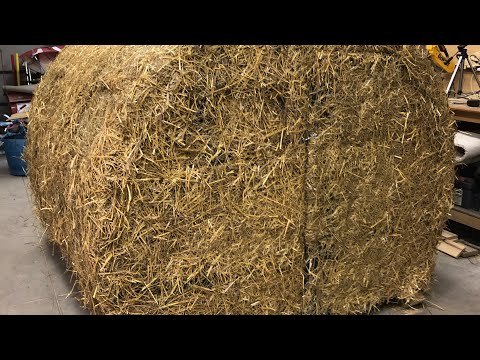 The Hay Bale Blind | Big Bidness Outdoors
