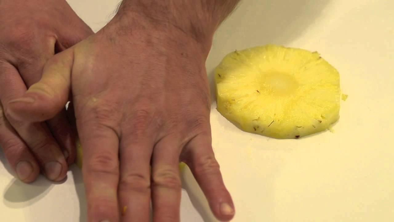 Wie schäle ich eine ananas