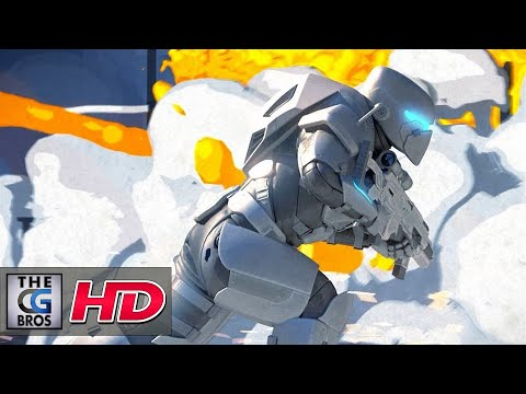 "CGI 3D Animated Trailers ""Hybrid Wars Intro Cinematic"" - by  Flipbook"