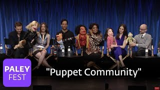 """Community - The Cast Has Fun With """"Puppet Community"""""""