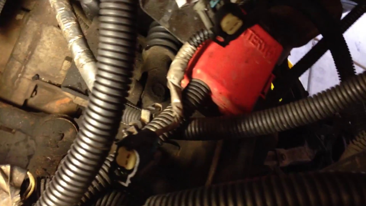 Wire harness removal GM 5.3 vortec LS engine vid 16 - YouTubeYouTube