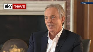 Tony Blair: No one could responsibly back a no-deal Brexit