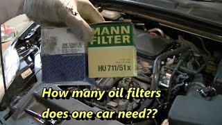 Ford Mondeo TDCi Oil Change