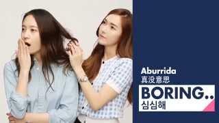 [HD] 140515 Jessica & Krystal OnStyle | LEARN JUNG SISTER