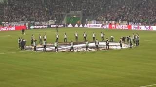 EL Borussia Mönchengladbach- Schalke 04 - Euro League - Aufstellung Euro League