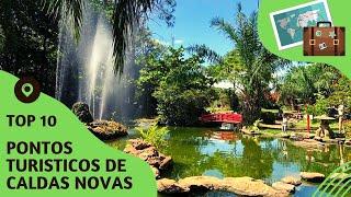 10 pontos turisticos mais visitados de Caldas Novas