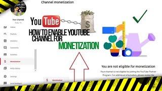 Si te bejm YouTube channel Monetize nese te eshte Refuzuar nje ose disa here?