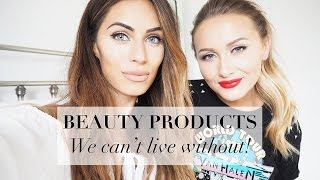 BEAUTY PRODUCTS WE CAN'T LIVE WITHOUT with Sarah Ashcroft | Lydia Elise Millen