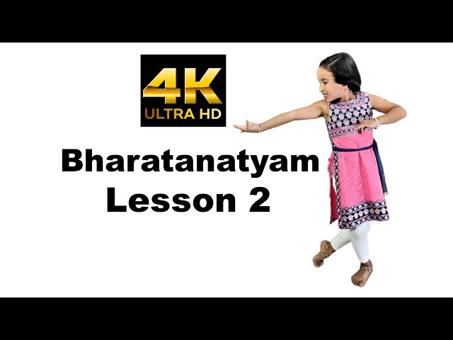 Bharatanatyam Dance - Basic Lessons for Beginners Step in Hindi | Lesson 2 | LearnWithPari