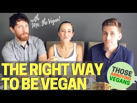 The Right Way to Be Vegan with Mic. the Vegan | Mukbang