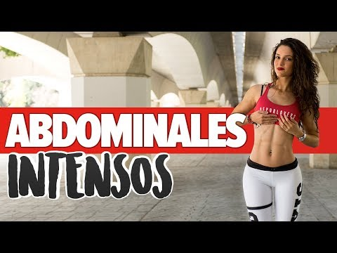 ABDOMINALES en 4 minutos: ejercicios en casa (AUDIO DESCRIPCIÓN) | Tone Abs At Home