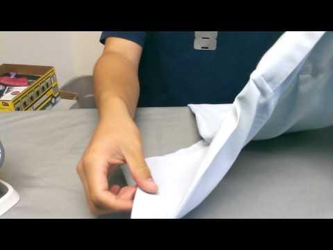 How to iron a cadet uniform.
