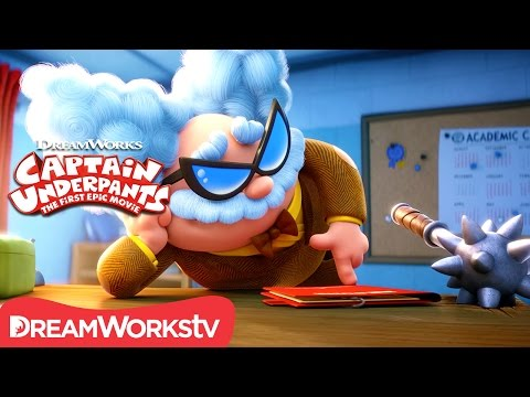 """Evil Science Teacher?!"" Official Clip   CAPTAIN UNDERPANTS: THE FIRST EPIC MOVIE"
