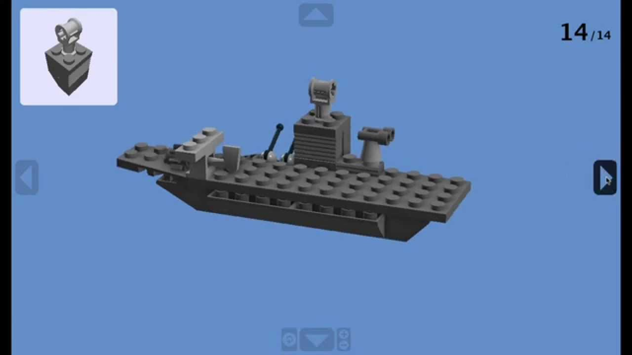 how to build a mini lego aircraft carrier youtube