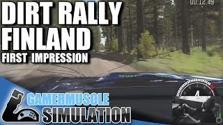 DiRT Rally – Flying Finland - First impressions