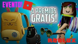 roblox imagination event 4 free prizes for your avatar free backpack lenses roblox 2
