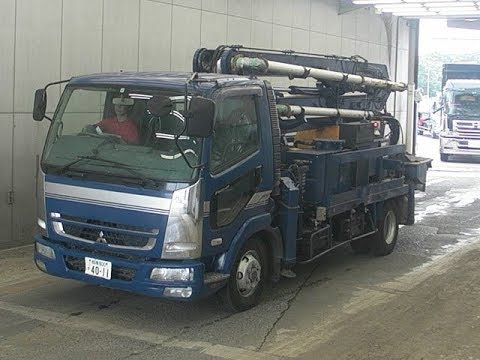 Японский автобетононасос на базе Mitsubishi Fuso Fighter 2007