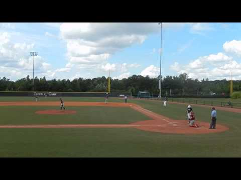 Jake Sadowitz Triple to Right field USABASEBALL NTIS 16U Cary, NC