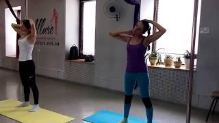 тренировка по растяжке  урок от Дмитрия Иванского