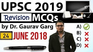 REVISION - UPSC 2019 Preparation - 24th June 2018 Daily Current Affairs for UPSC / IAS 2019