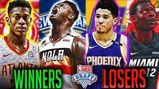 The Winners And Losers Of The 2019 NBA Draft
