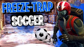 FREEZE-TRAP SOCCER Custom Game Mode | Hockey with *NEW* Freeze-Traps! (Fortnite Battle Royale)
