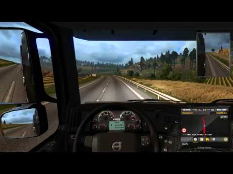 Euro Truck Simulator 2: fast delivery and crazy driver
