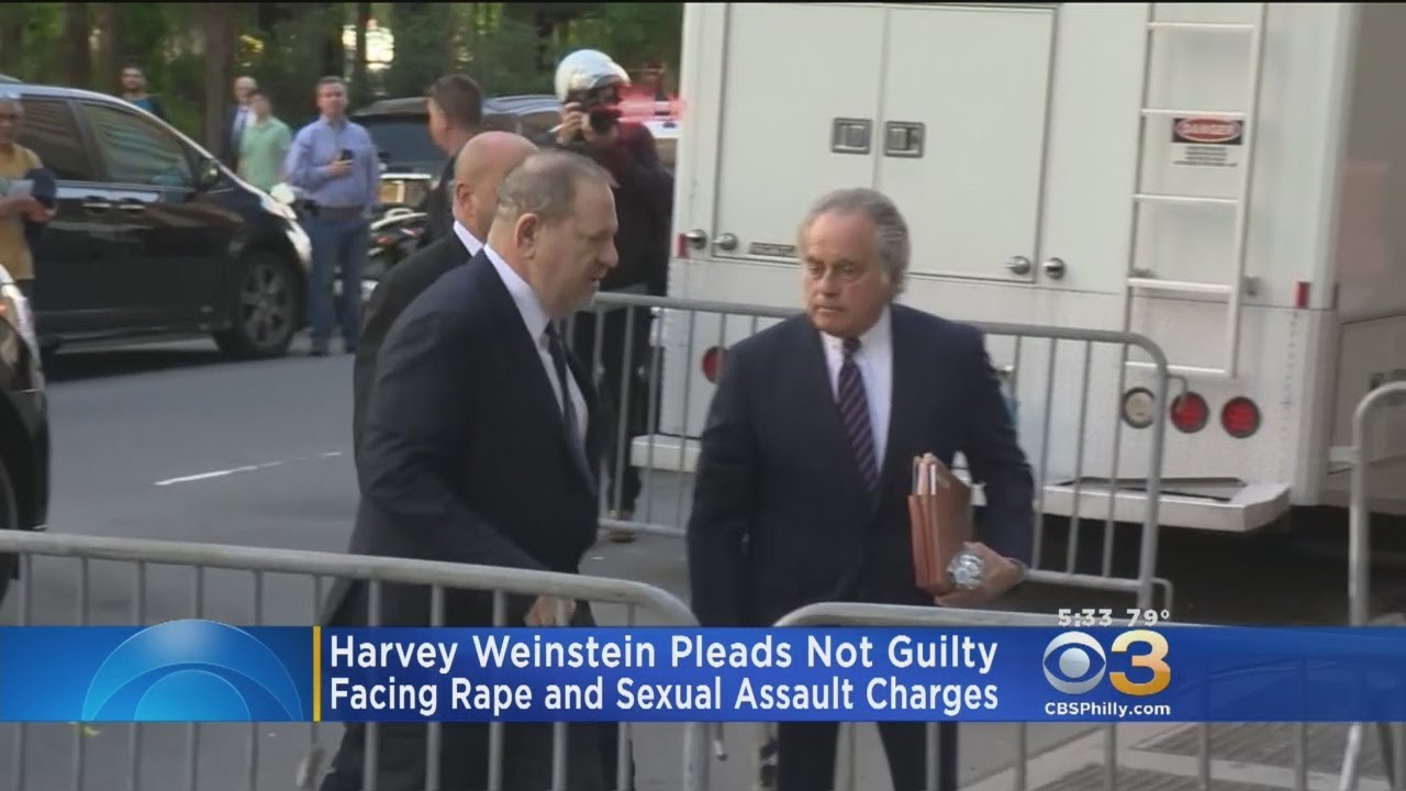 Download Harvey Weinstein Pleads Not Guilty To Rape And Criminal Sex Act Charges In New York City