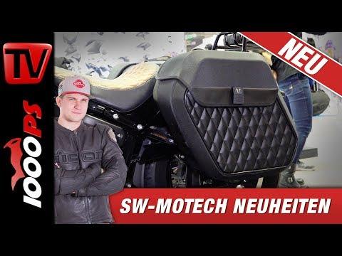 SW-Motech EICMA Neuheiten 2019 - Clevere Gepäcksysteme im eleganten Look